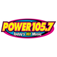Logo de la radio KMCK Power 105.7