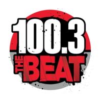 Logo of radio station KATZ 100.3 The Beat