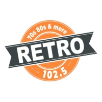 Logo of radio station KTRR Retro 102.5