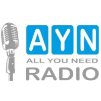 Logo of radio station AYN radio