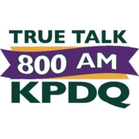 Logo of radio station KPDQ True Talk 800