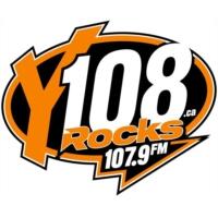 Logo of radio station Y108 Rocks CJXY