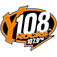 Logo of radio station Y108 Rocks CJXY