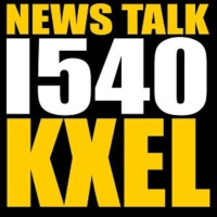 Logo de la radio KXEL News/Talk 1540