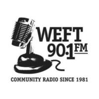 Logo of radio station WEFT 90.1 fm