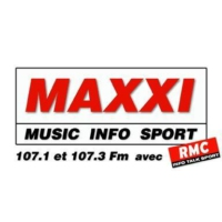 Logo of radio station MAXXI RMC