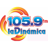 Logo of radio station XHCOV La Dinámica 105.9
