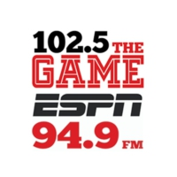 Logo de la radio WPRT-FM The Game 102.5
