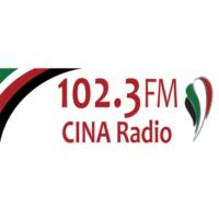 Logo de la radio CINA-FM 102.3 FM CINA Radio