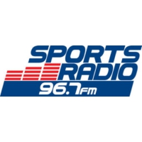 Logo of radio station WLLF ESPN 96.7