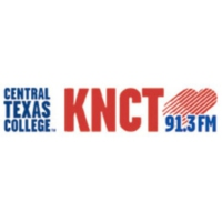 Logo of radio station KNCT 91.3 FM