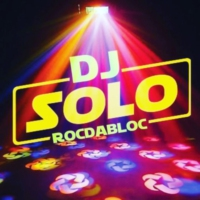Logo of radio station The DJ Solo.. RocDaBloc Ent.