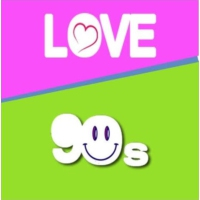 Logo of radio station LOVE 90s