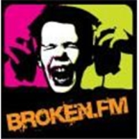 Logo of radio station KORB Broken 107.9