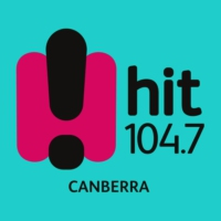 Logo de la radio Hit104.7