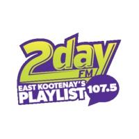 Logo of radio station CFSM 107.5 2day FM