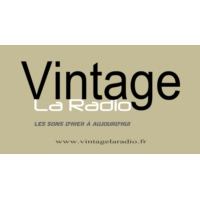 Logo of radio station Vintage La Radio