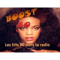 Logo of radio station Boost 80