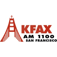 Logo of radio station AM 100 KFAX
