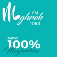 Logo of radio station maghreb fm