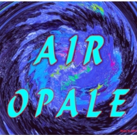 Logo of radio station AIR OPALE