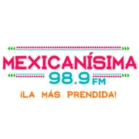 Logo of radio station XHYW Mexicanísima 98.9 FM