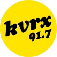 Logo of radio station KVRX 91.7