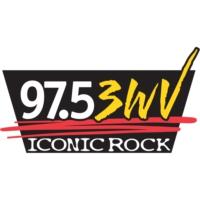 Logo de la radio WWWV 97.5 3WV Iconic Rock