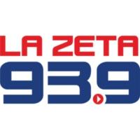 Logo of radio station XHMV-FM La Zeta 93.9