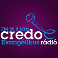 Logo of radio station Credo Rádió