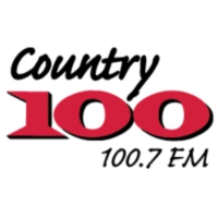 Logo of radio station Country 100.7 FM