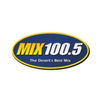 Logo of radio station KPSI MIX 100.5