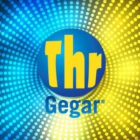 Logo of radio station THR Gegar