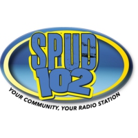 Logo of radio station 102.1 SPUD FM