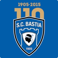 Logo of radio station SC Bastia - Live Radio Foot