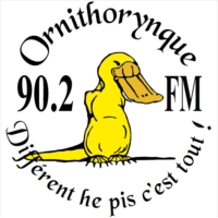 Logo de la radio Ornithorynque 90.2 FM