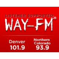 Logo of radio station KXWA WAY