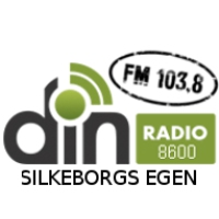 Logo of radio station Din Radio Silkeborg 103.8 FM