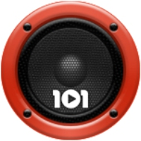 Logo of radio station 101.ru - Rock