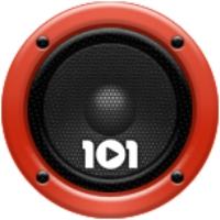 Logo de la radio 101.ru - Rock