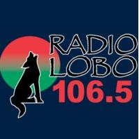 Logo of radio station KYQQ Radio Lobo 106.5