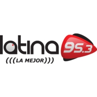 Logo of radio station Latina FM 95.3