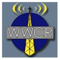 Logo of radio station WWCR 3