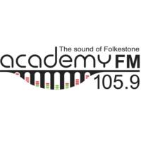 Logo of radio station 105.9 Academy FM Folkestone