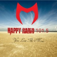 Logo de la radio happy radio 101.5
