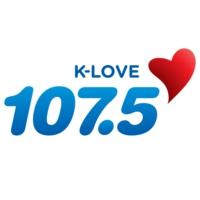 Logo of radio station KLVE K-Love 107.5