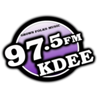 Logo of radio station KDEE 97.5