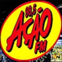 Logo of radio station Rádio Ação 98.5 FM Rio de Janeiro