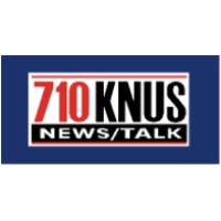 Logo of radio station KNUS