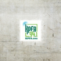 Logo of radio station KPFA 94.1 FM